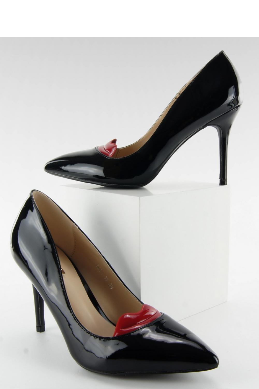 Pantofi cu toc subtire (stiletto) model 80068 Inello