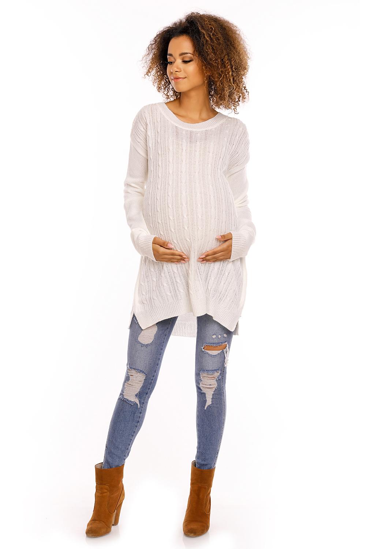 Maternitate pulover model 94429 PeeKaBoo