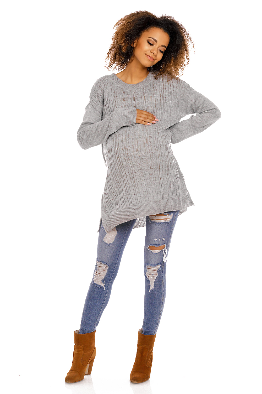 Maternitate pulover model 94430 PeeKaBoo