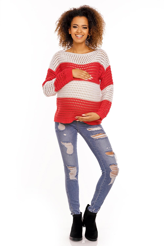 Maternitate pulover model 94452 PeeKaBoo