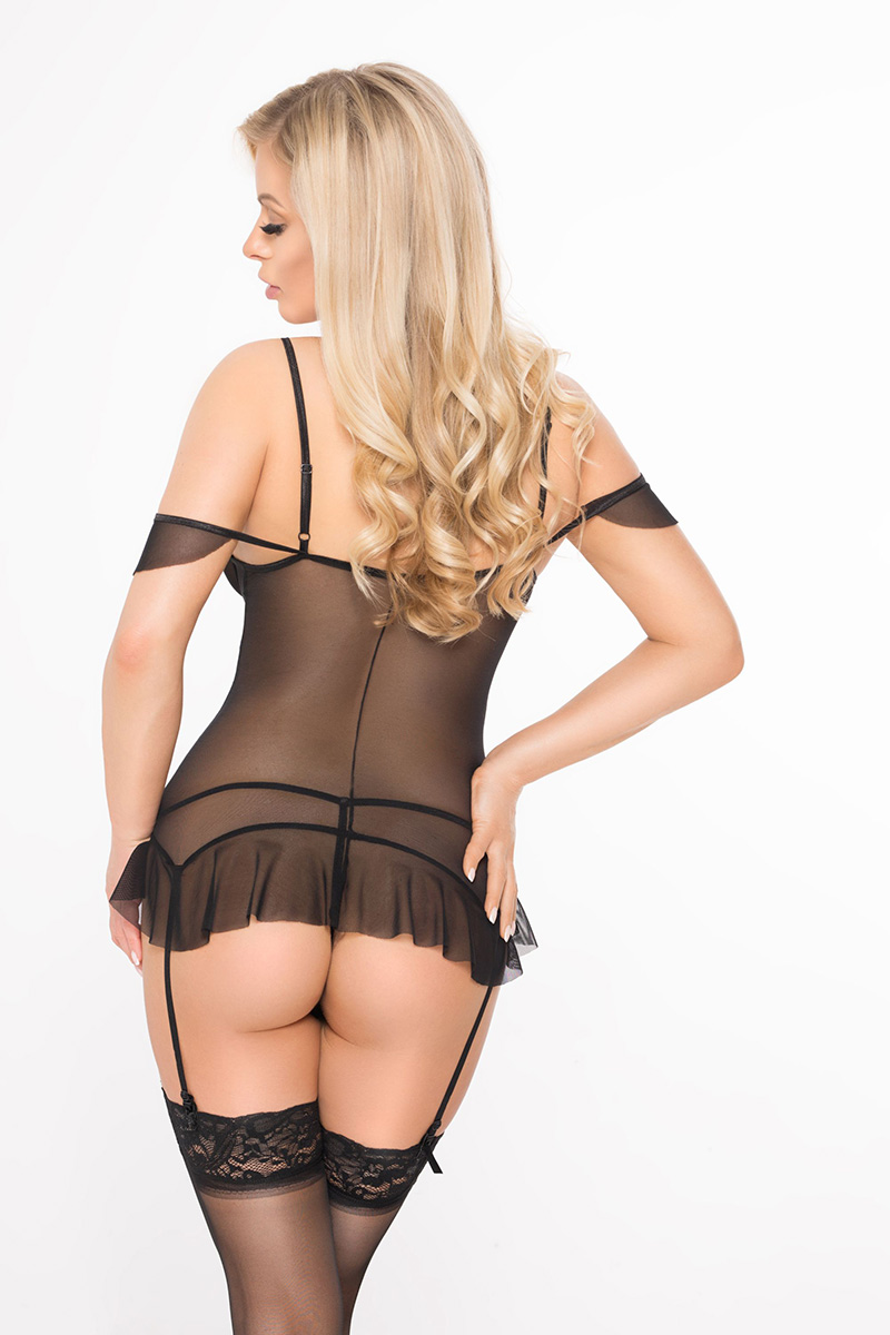 Lenjerie sexy completa model 124466 SoftLine Collection