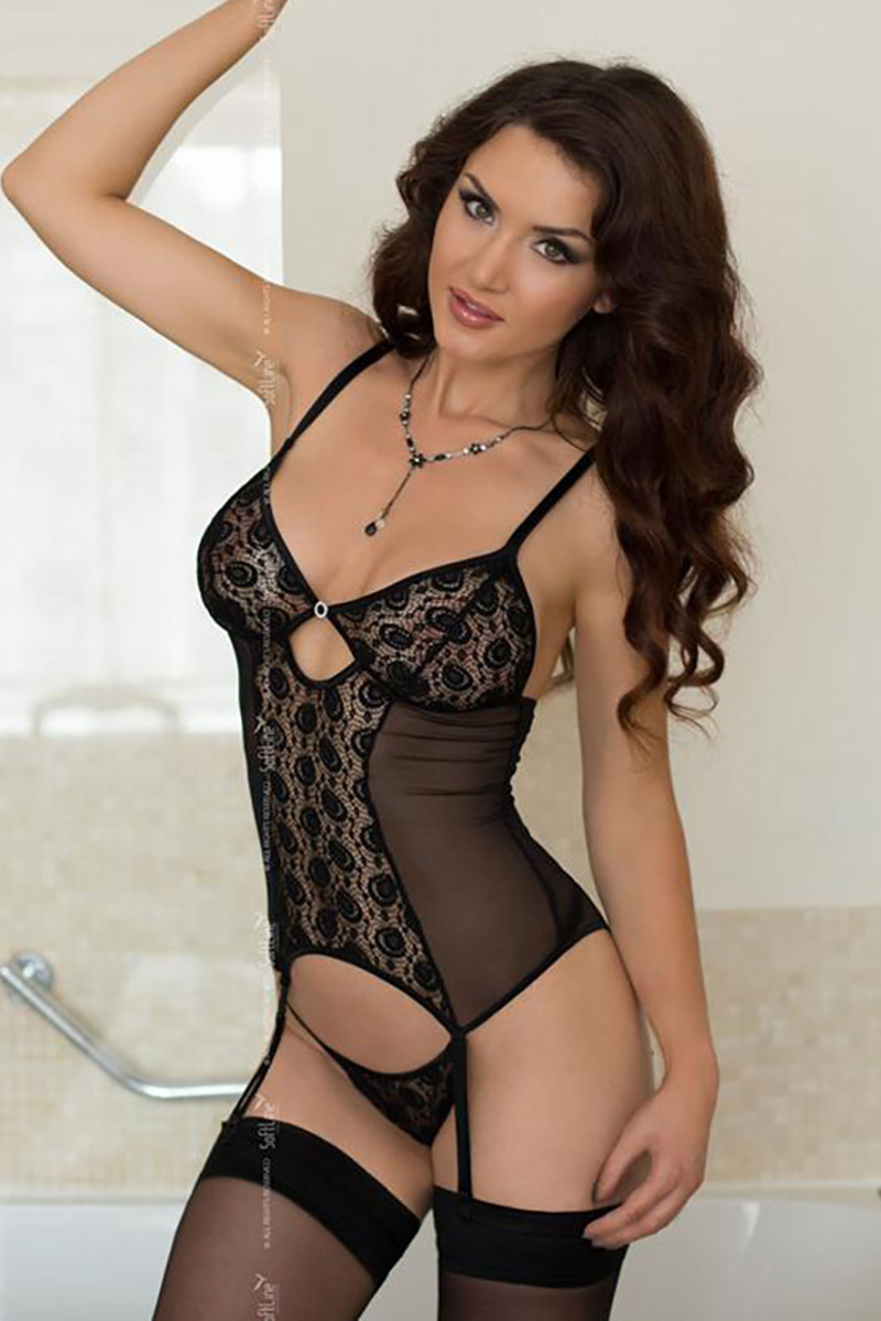 Lenjerie sexy completa model 124734 SoftLine Collection