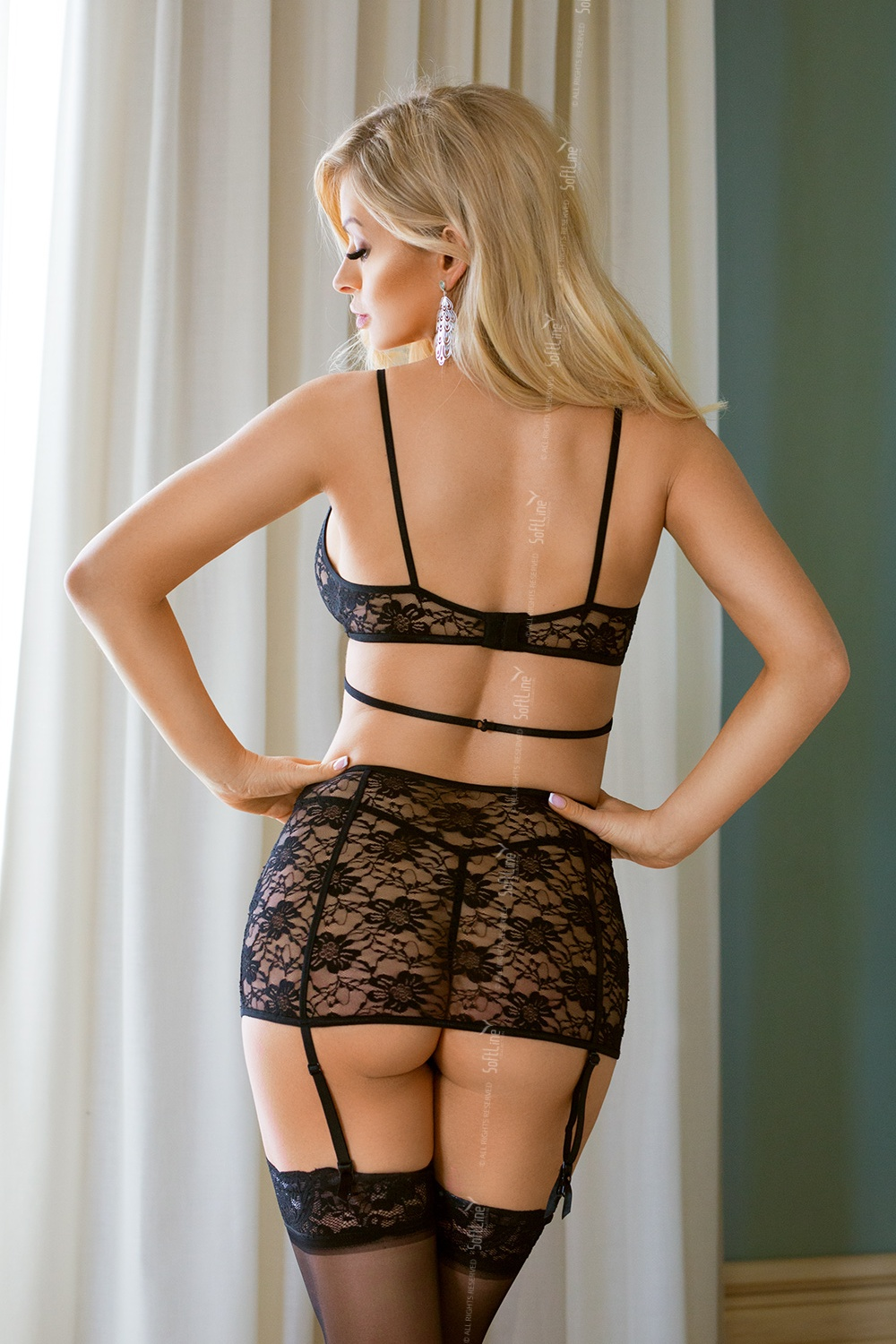 Lenjerie sexy completa model 125645 SoftLine Collection