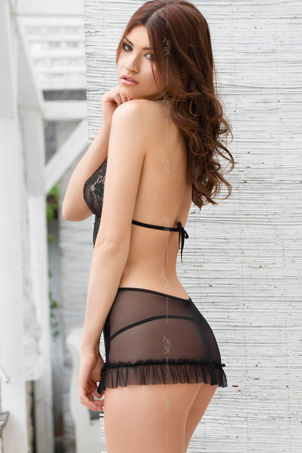 Lenjerie sexy completa model 125656 SoftLine Collection