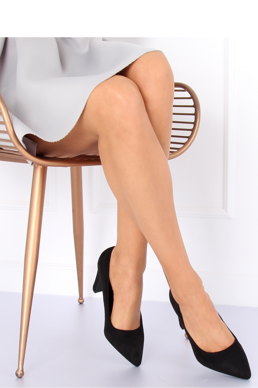 Pantofi dcu toc gros model 127143 Inello