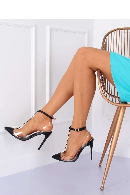 Pantofi cu toc subtire (stiletto) model 127171 Inello