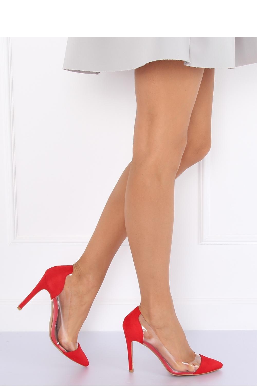 Pantofi cu toc subtire (stiletto) model 127175 Inello