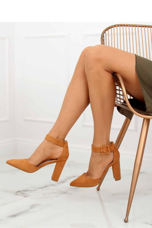 Pantofi dcu toc gros model 128110 Inello