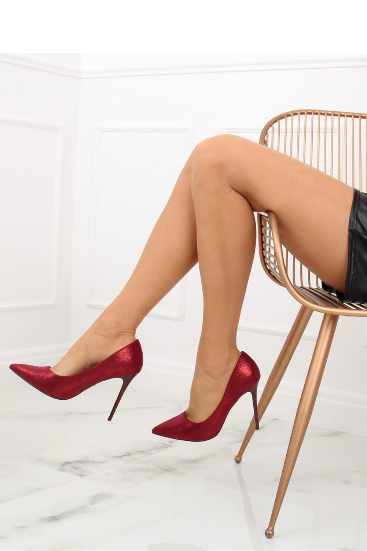 Pantofi cu toc subtire (stiletto) model 128198 Inello