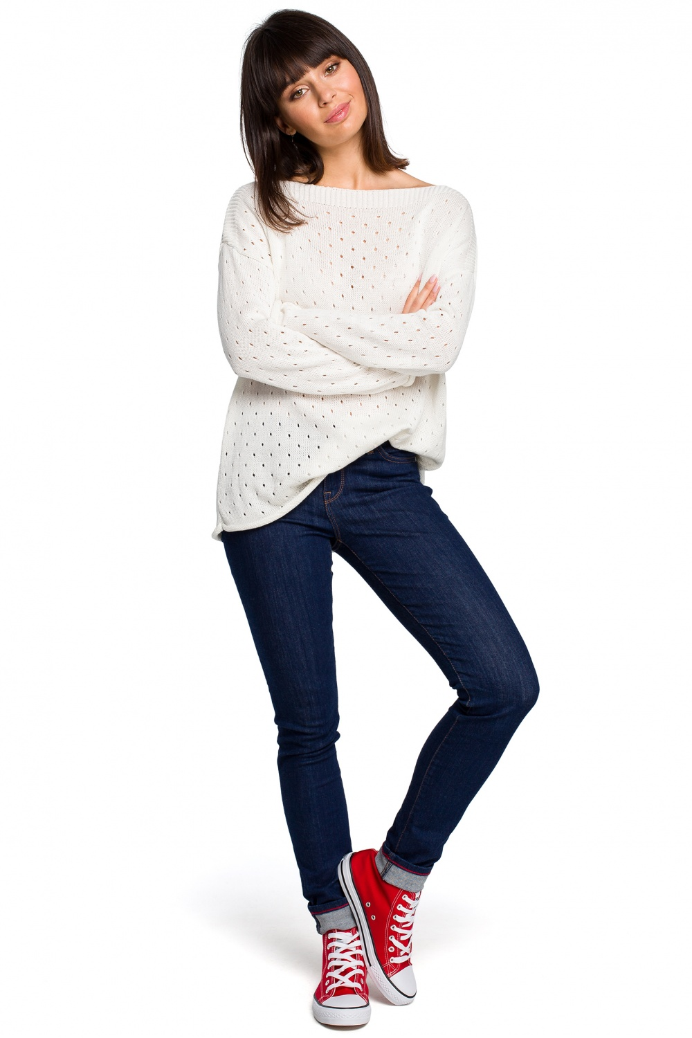 Pulover model 129161 BE Knit