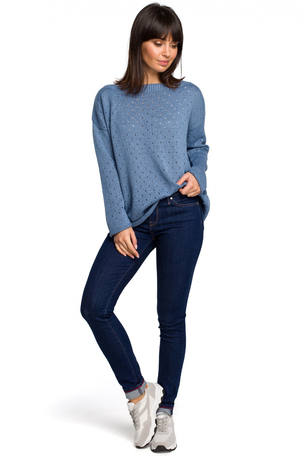 Pulover model 129162 BE Knit
