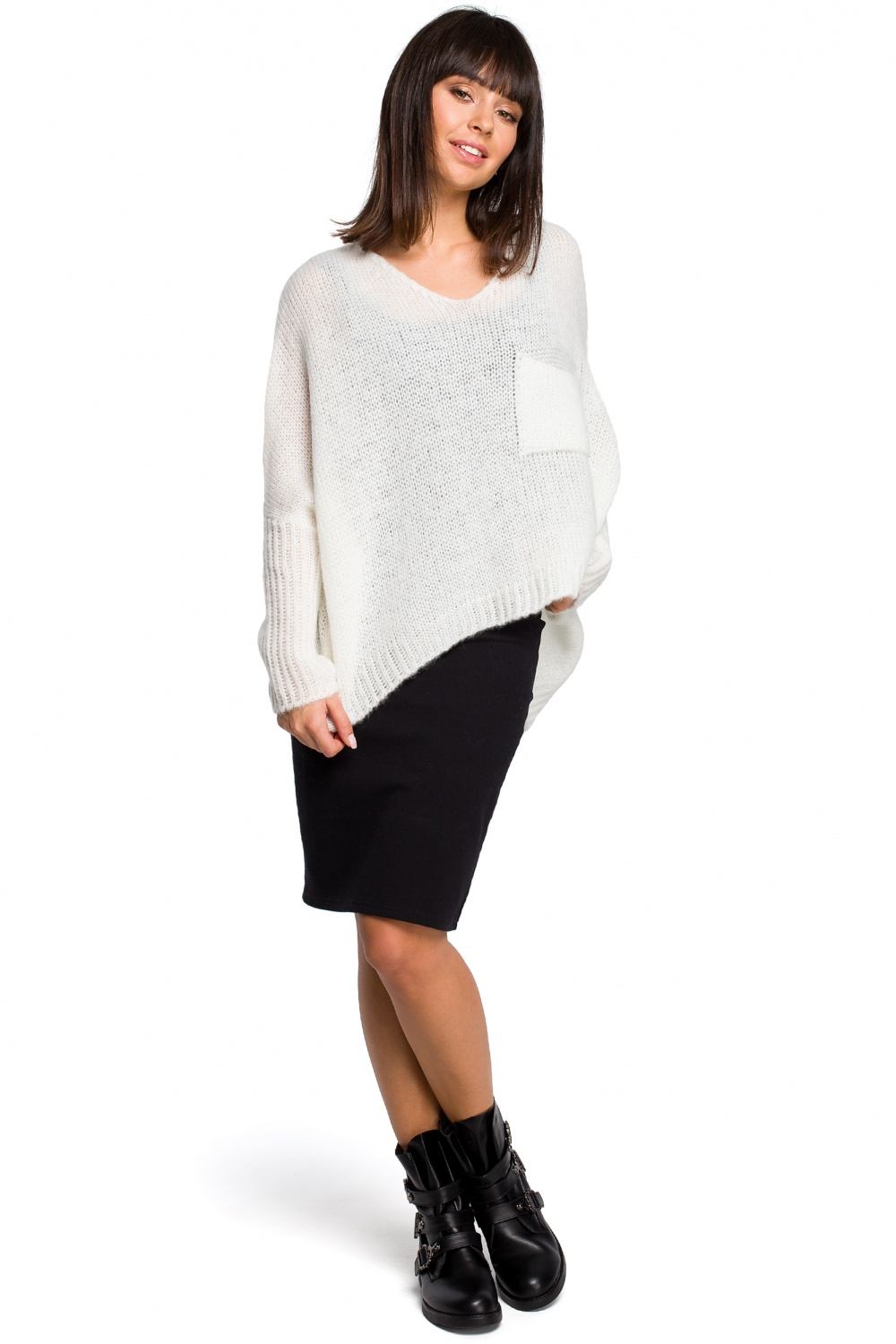 Pulover model 129166 BE Knit