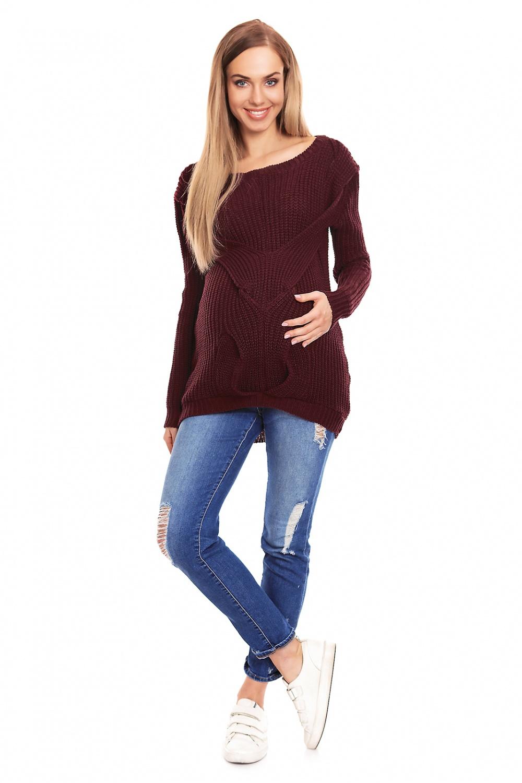 Maternitate pulover model 132031 PeeKaBoo