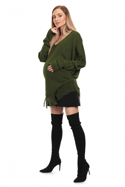 Maternitate pulover model 132034 PeeKaBoo