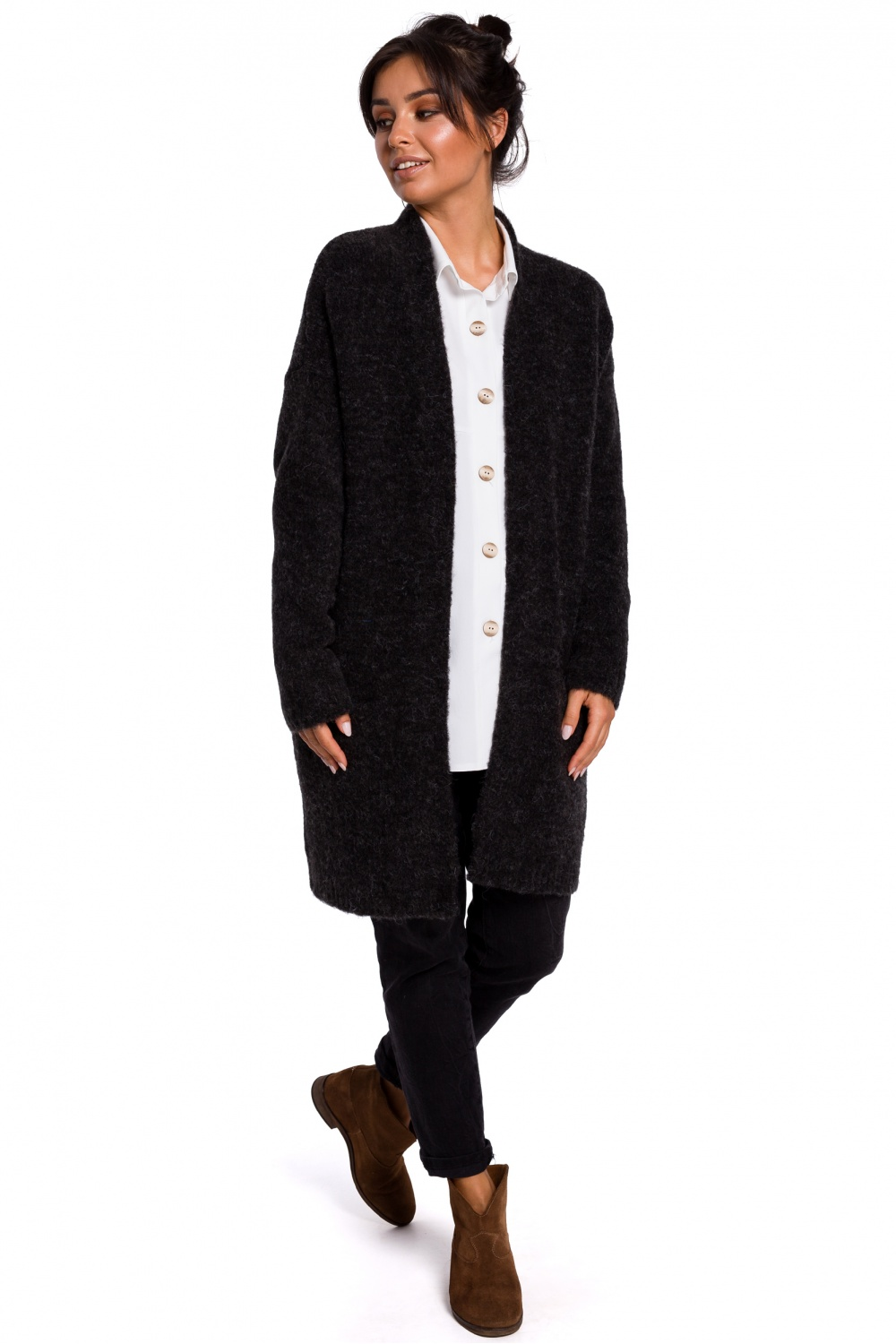 Cardigan model 134735 BE Knit