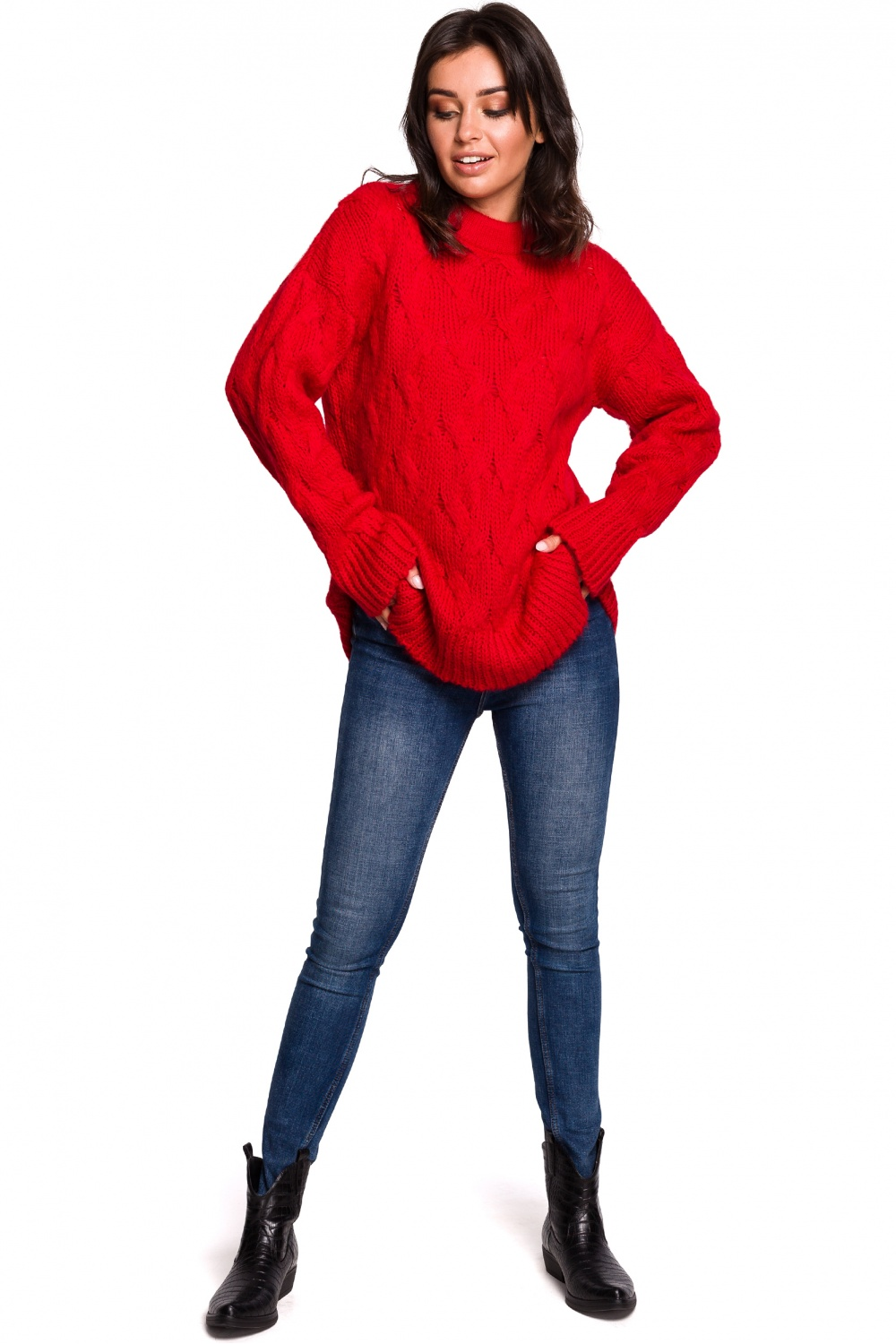 Pulover model 136419 BE Knit