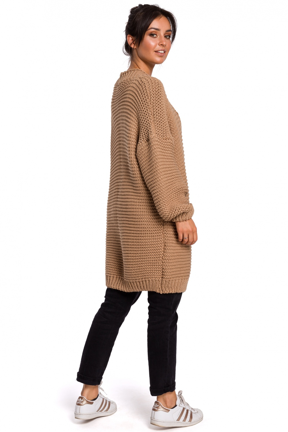 Cardigan model 136426 BE Knit