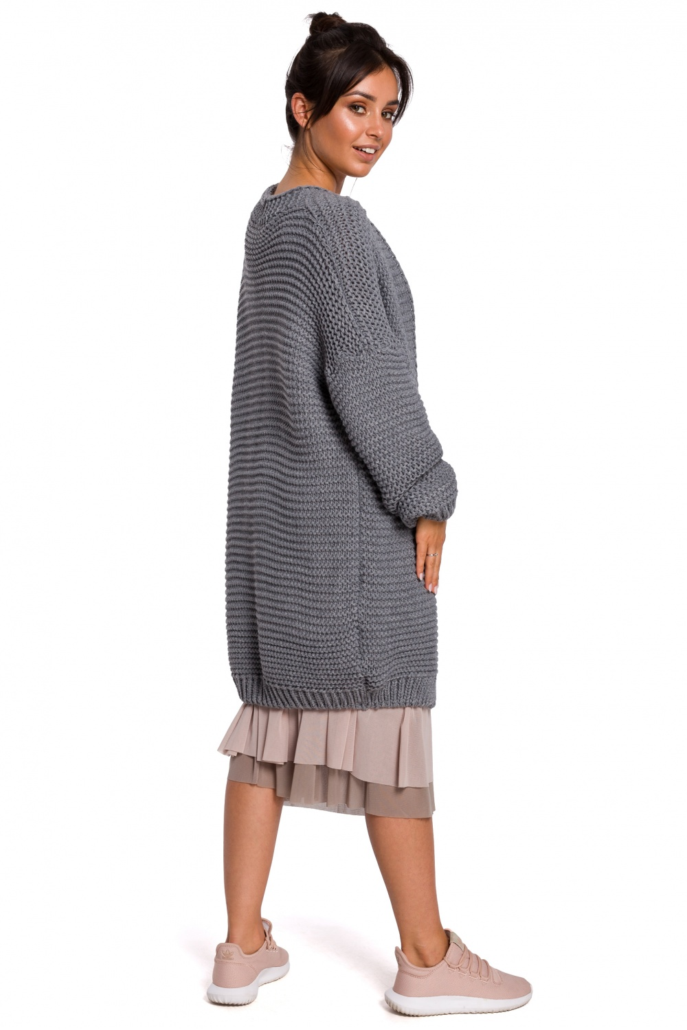 Cardigan model 136427 BE Knit