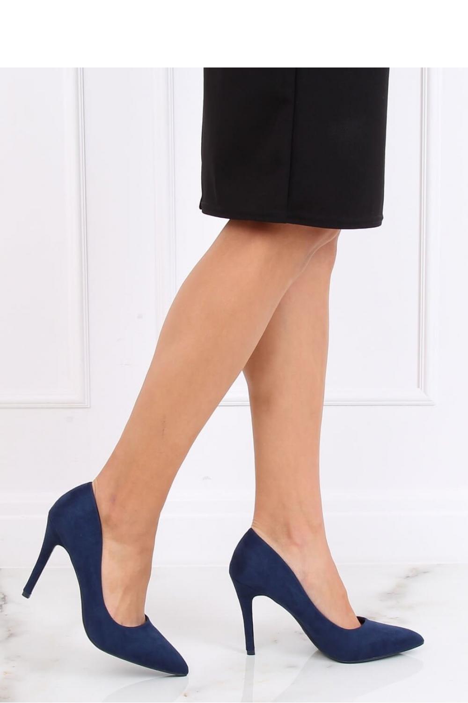 Pantofi cu toc subtire (stiletto) model 137458 Inello