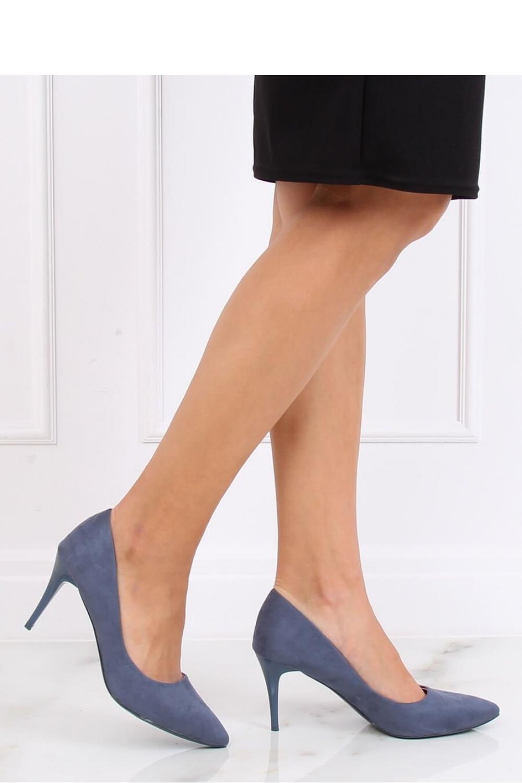 Pantofi cu toc subtire (stiletto) model 137462 Inello