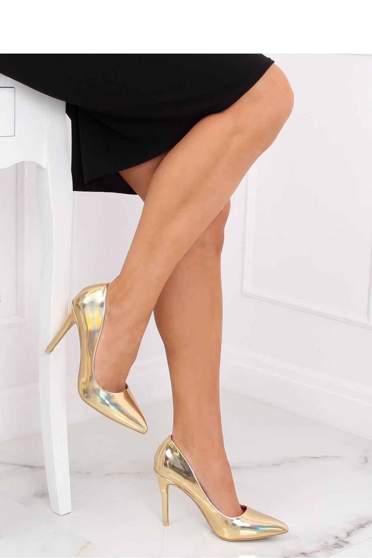 Pantofi cu toc subtire (stiletto) model 139721 Inello