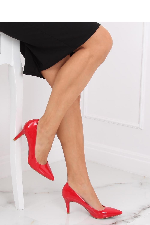 Pantofi cu toc subtire (stiletto) model 139734 Inello