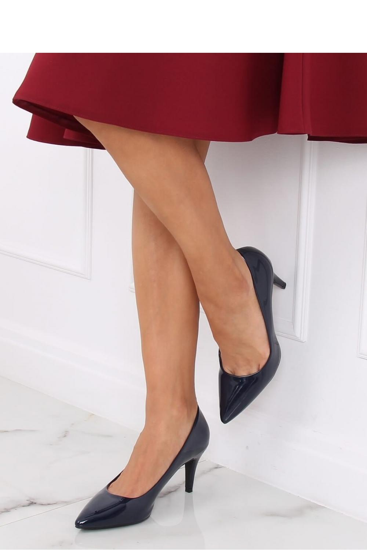 Pantofi cu toc subtire (stiletto) model 139735 Inello