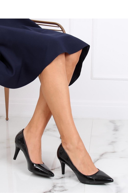 Pantofi cu toc subtire (stiletto) model 139736 Inello