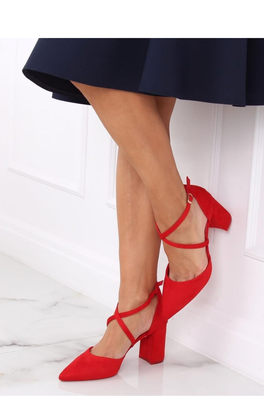 Pantofi dcu toc gros model 139739 Inello