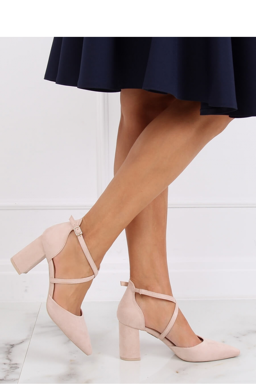 Pantofi dcu toc gros model 139741 Inello