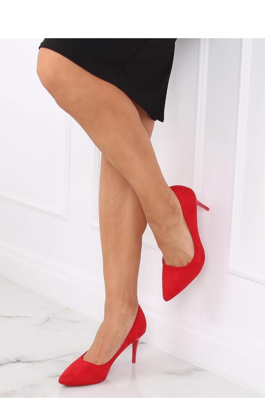 Pantofi cu toc subtire (stiletto) model 139746 Inello