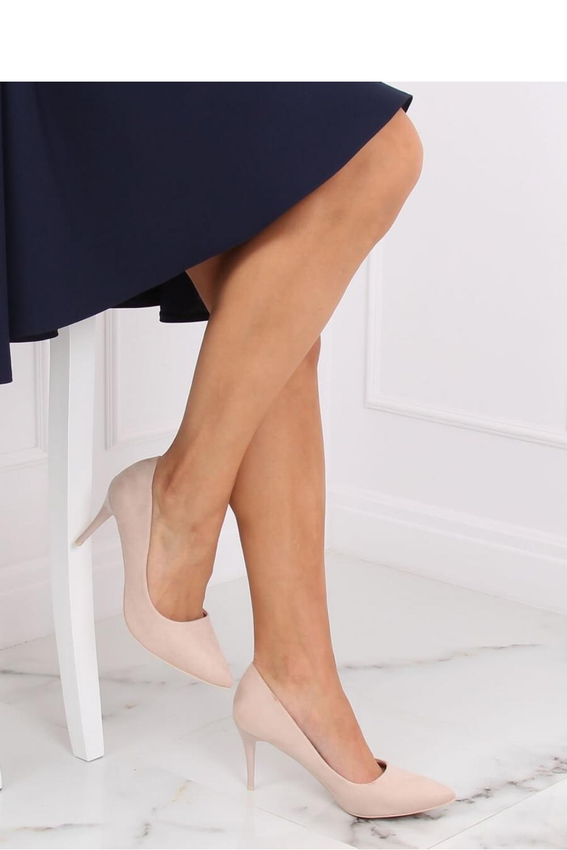 Pantofi cu toc subtire (stiletto) model 139747 Inello