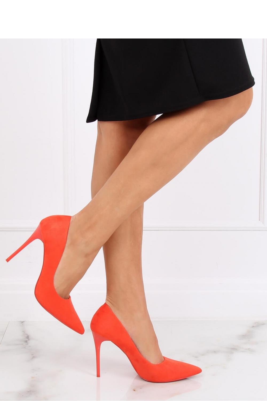 Pantofi cu toc subtire (stiletto) model 139749 Inello
