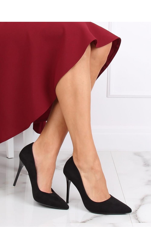 Pantofi cu toc subtire (stiletto) model 139751 Inello