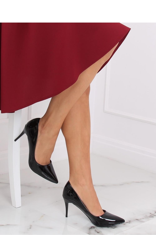 Pantofi cu toc subtire (stiletto) model 139756 Inello