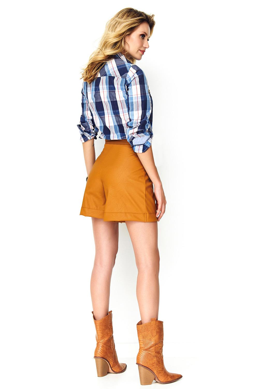 Pantaloni scurti model 142553 Makadamia
