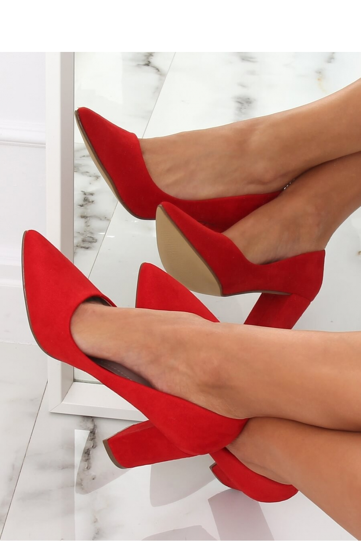 Pantofi dcu toc gros model 142932 Inello