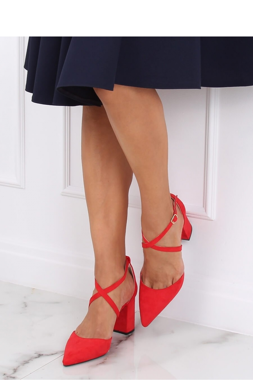 Pantofi dcu toc gros model 143178 Inello