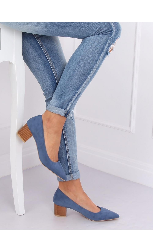 Pantofi dcu toc gros model 143529 Inello