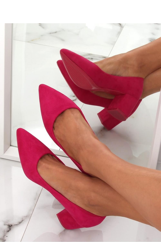 Pantofi dcu toc gros model 144965 Inello