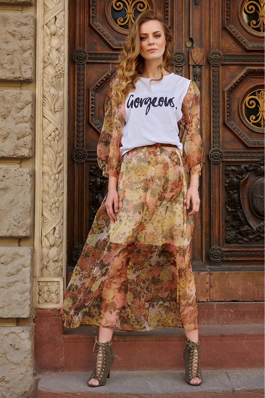 Bluza model 145602 Makadamia