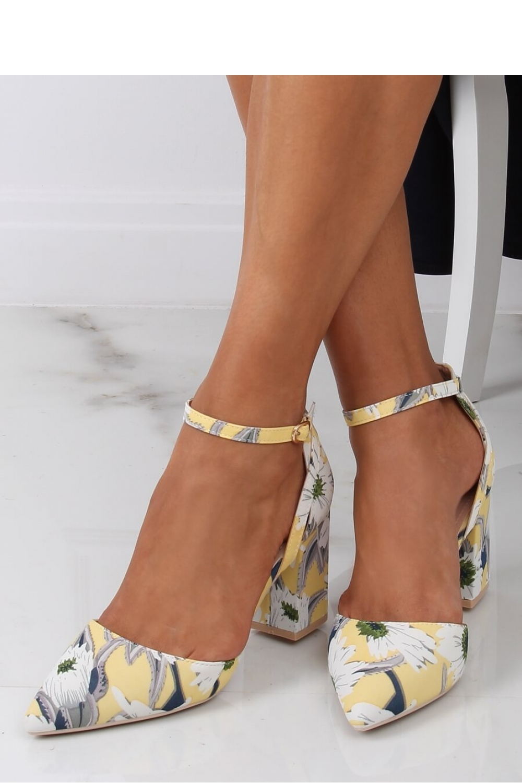 Pantofi dcu toc gros model 145911 Inello