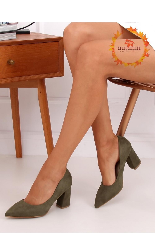 Pantofi dcu toc gros model 146792 Inello
