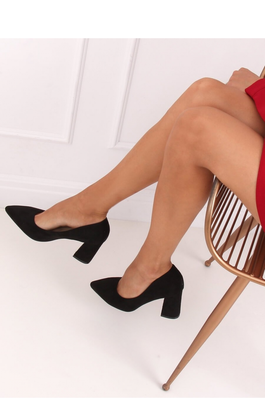 Pantofi dcu toc gros model 146793 Inello