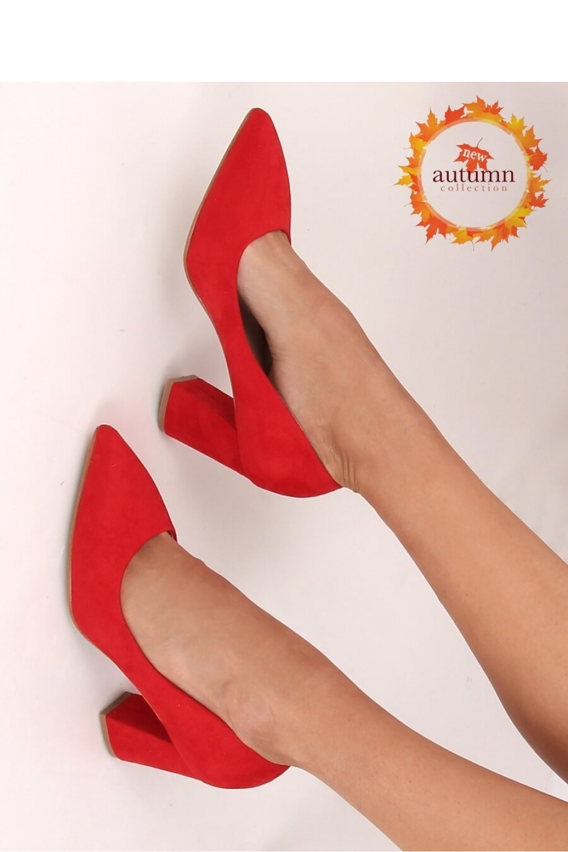 Pantofi dcu toc gros model 146796 Inello
