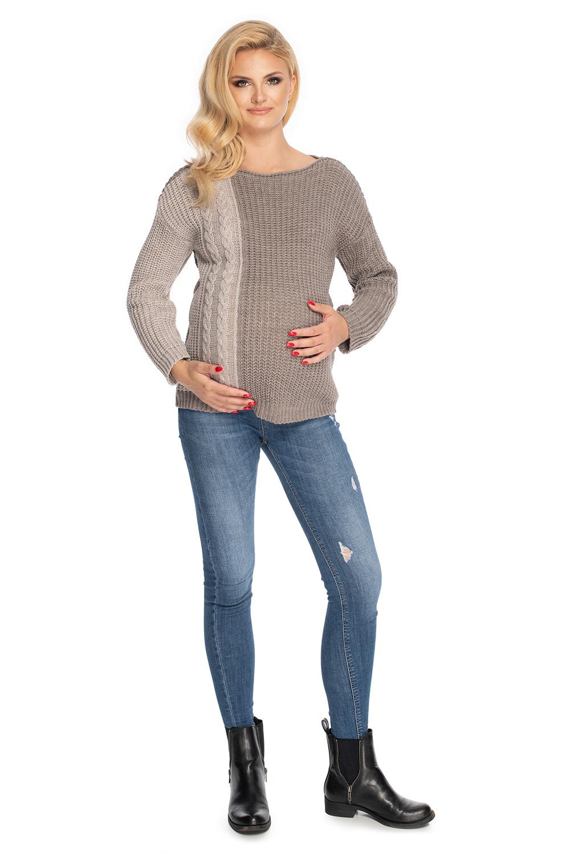 Maternitate pulover model 147496 PeeKaBoo